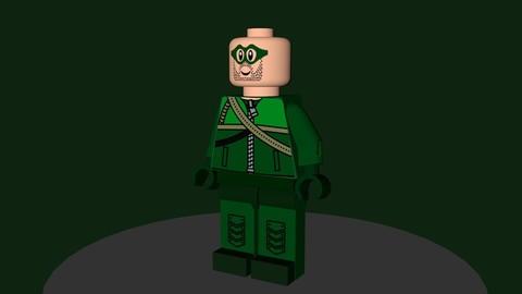 Lego Arrow(Archer Green)