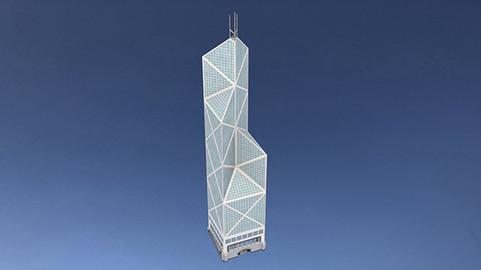Bank Of China Tower in Hong Kong