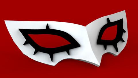 Persona 5 Joker Mask - STL