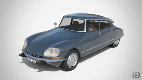 Citroen DS 23 1974 | 3D Model