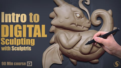 Intro To Digital Sculpting w Sculptris