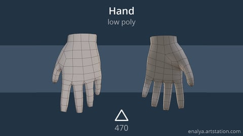 Hand (low poly)