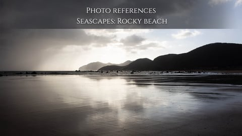 Photo reference Seascapes: Rocky beach