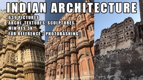 INDIAN ARCHITECTURE PHOTO PACK