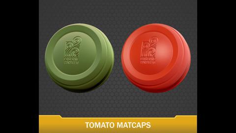 Catherine's Tomato Matcaps
