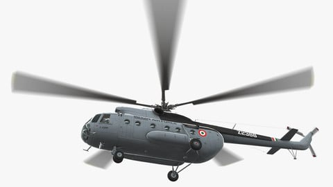 Mi-8T India Air Force Animated