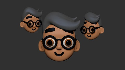 Sculpt And Paint Your First Cartoon Character Head In Zbrush
