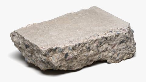 Concrete Chunk 03 - 16K Scan