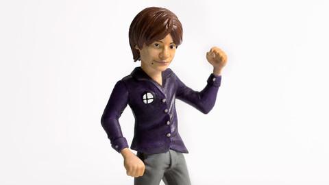 Masahiro Sakurai Collectible Smash Figure