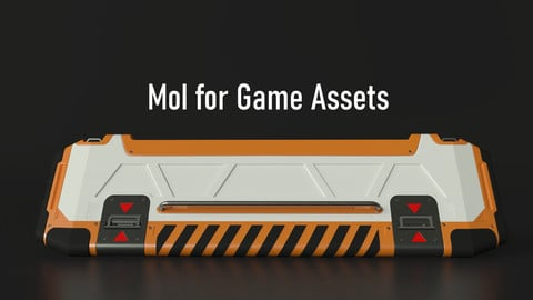 MoI3D for Game Assets