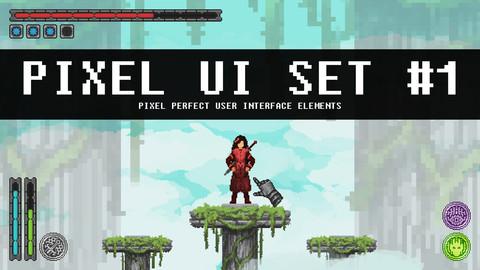 Pixel UI Set #1