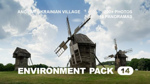 Env Pack 14 / Ancient Ukrainian Village / Reference pack