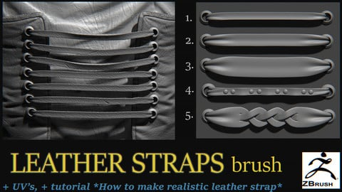 Leather Straps brush