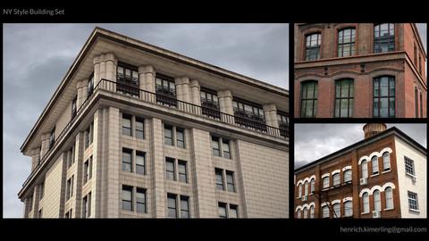 NY Style Building set