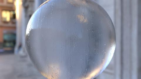 4k Water Drops Textures