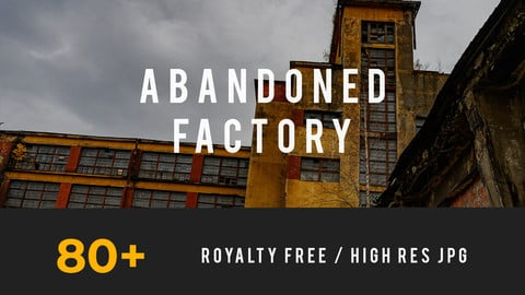 Abandoned Factory, Post-Apocalyptic Pack