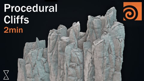 Houdini Procedural Rocks (Tutorial file)