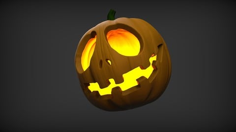 Sculpt And Paint Your Very Own 3D Printable Halloween Pumpkin Design In Zbrush