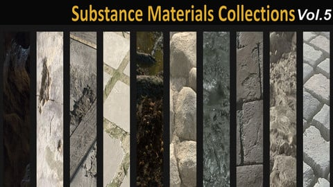 Substance Materials collection vol 5