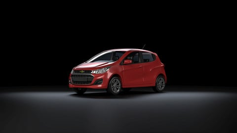 Chevrolet Spark 2018 for Vray in 3ds Max
