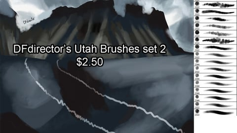 DF's Utah Brushes Set 2
