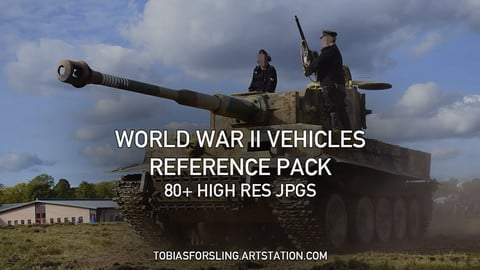 World War II Vehicles Reference Pack