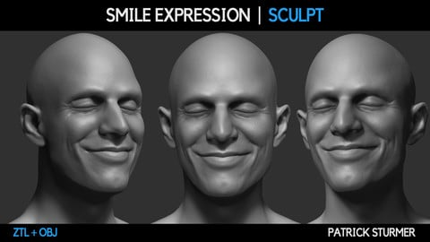 Smile Expression Sculpt