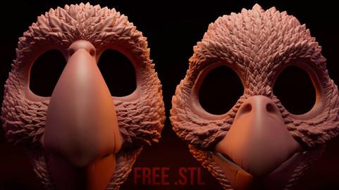 Birds Masks - Articulated
