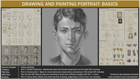 DRAWING AND PAINTING PORTRAIT: BASICS