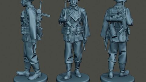German soldier ww2 walk G2