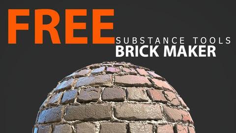 Brick Maker - Substance Designer