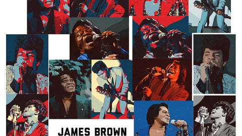 James Brown Artwork