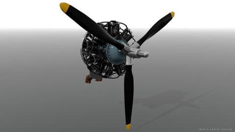 R-1830 Twin Wasp Aircraft Engine