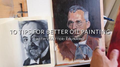 10 Tips For Better Oil Painting