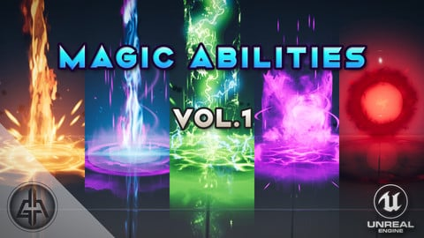 AoE Magic Abilities Vol. 1 - Unreal Engine