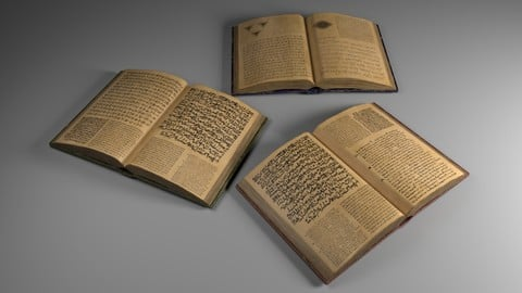 Opened Ancient Spellbook