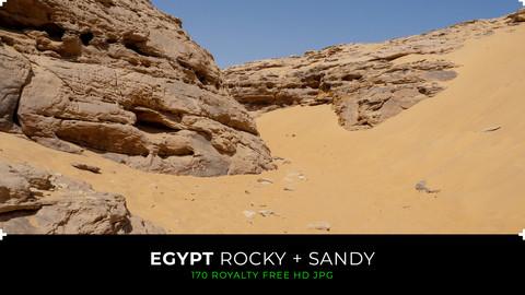 Egypt - Rocky & sandy