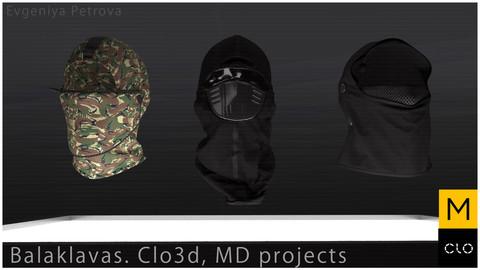 Balaklavas. Clo3d, MD projects