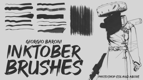Giorgio Baroni - Inktober brushes