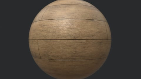 Procedural Wood Laminate Floor Material 2 - Substance Designer
