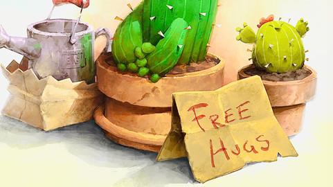 FREE HUGS - Emilio Grasso
