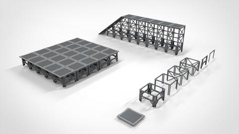 Sci Fi Modular Environment 4