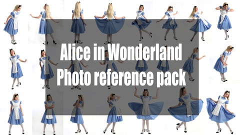 Alice in Wonderland - photo reference pack