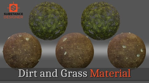 Dirt and Grass Material
