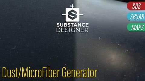 Procedural Dust and Fibers Generator