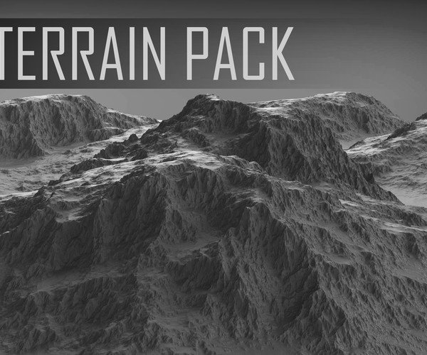 ArtStation - 3D Terrain Pack | Game Assets