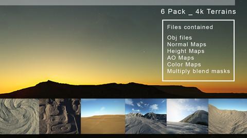 Terrains 4k Pack V_01