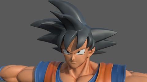 Character - Dragon Balls Goku Fan Art