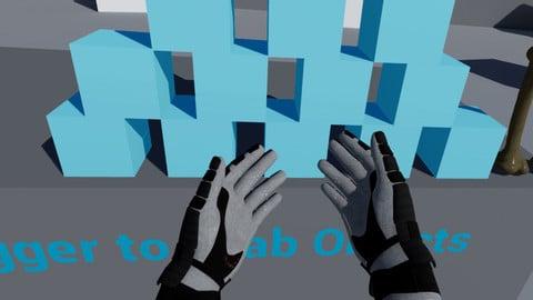 VR Hands UE4