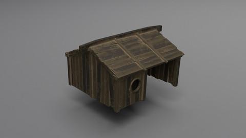 Pirate Fishing Hut